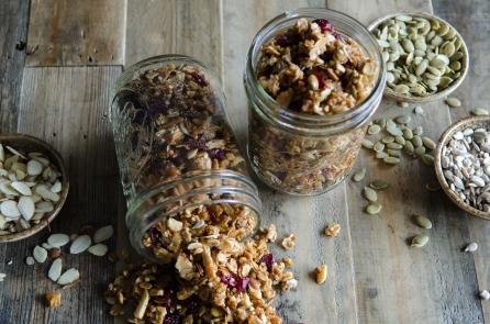 Homemade Buckwheat Granole