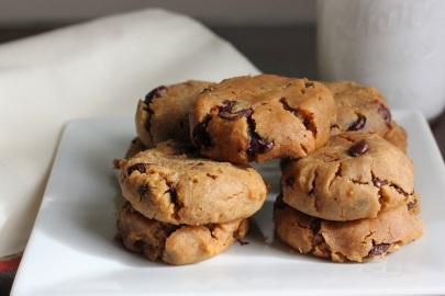 Chickpea vegan cookies