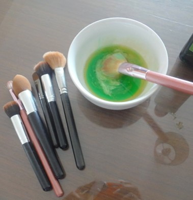 New Make-up brushes in 5 minutes!