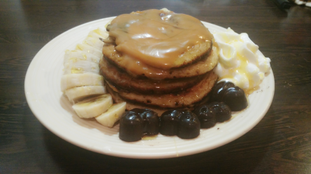 3 Ingredients Protein Pancake