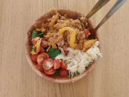 Quinoa & Sauerkraut Salad