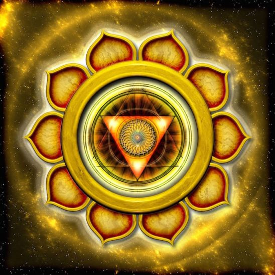 12931904 - the solar plexus chakra